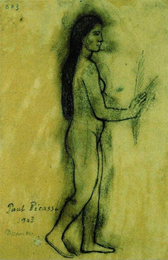 Pablo Picasso. Hommage à Gauguin 1903