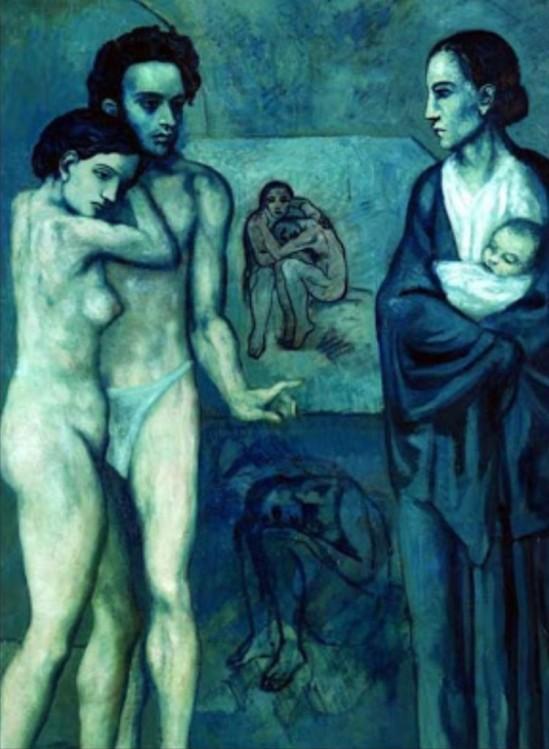 Pablo Picasso. La vie  1903
