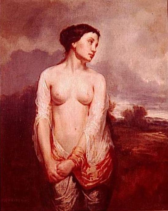 Théodore Chasseriau (1819-1856). La captive