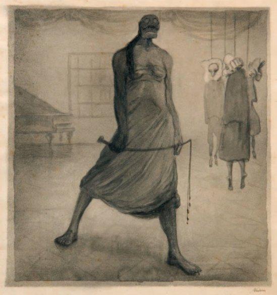 Alfred Kubin. Carnival  1902-1903