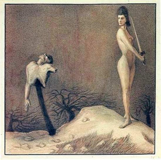 Alfred Kubin.  Das schlachtfest 1903