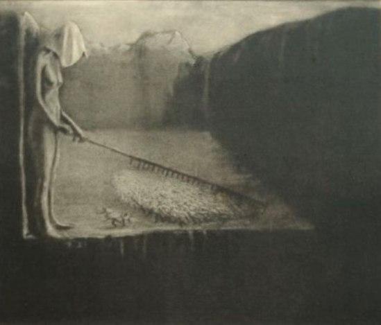 Alfred Kubin. The destiny of men