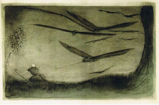 Alfred Kubin. The Pursued One