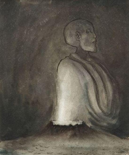 Alfred Kubin. The volcano 1903-1904