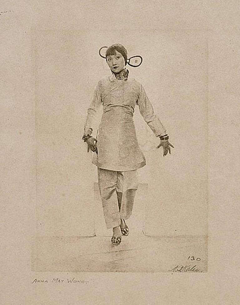 Arthur F. Kales. Anna May Wong in Thief of Bagdad 1924. Via invaluable