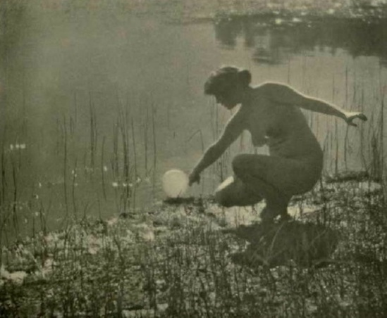 Arthur F. Kales. The bubble 1919. Via historicalzg