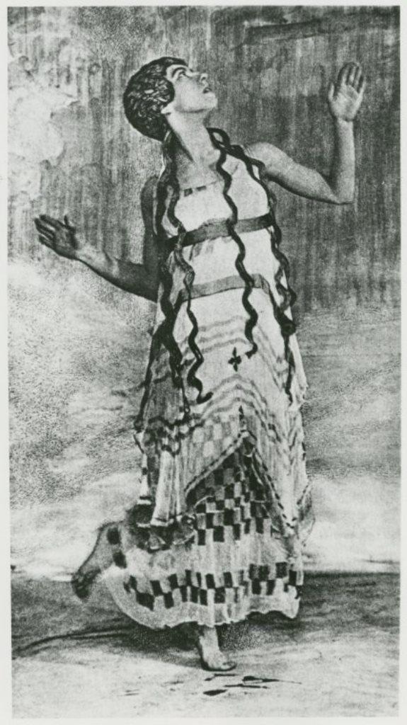 Baron Adolf De Meyer. Jerome Robbins Dance Division 1912. Via nypl