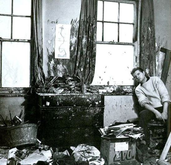 Cecil Beaton. Francis Bacon in his studio in 1959