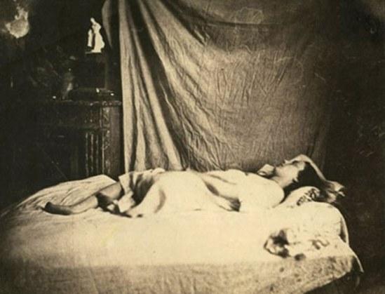 Charles Nègre. Reclining woman 1848. Via photomonitor