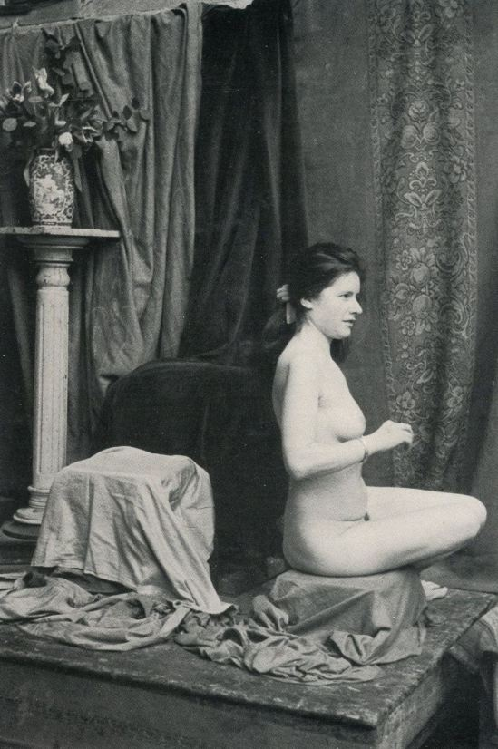Edouard Boubat. Aelier de la grande chaumière 1964. Via ebay
