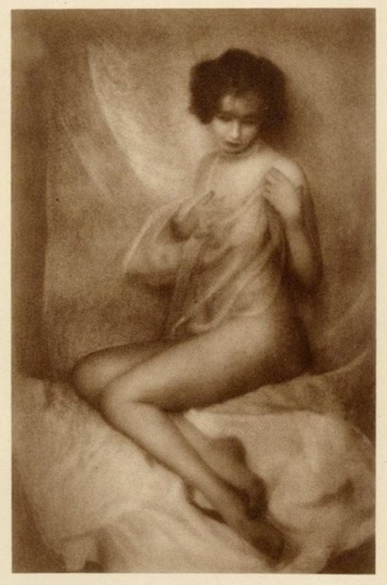 Ferdinand Flodin. Swedish Nude 1920. Via liveauctioneers