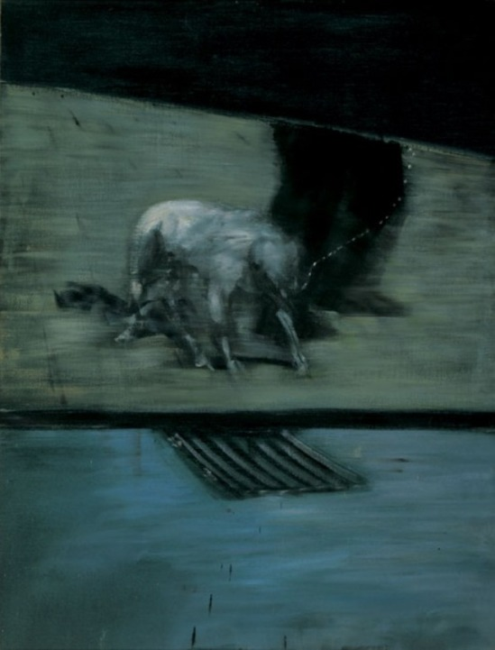 Francis Bacon. Man with Dog 1953. Oil on canvas © Estate of Francis Bacon