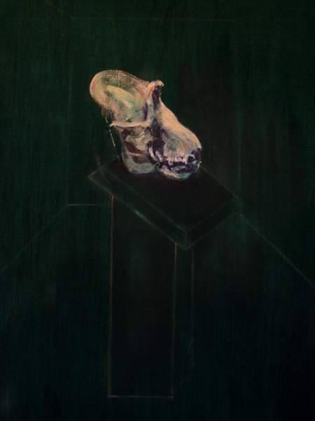 Francis Bacon. Skull of a gorilla 1957© The Estate of Francis Bacon. All rights reserved.