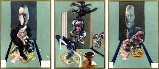 Francis Bacon.  Triptych 1976 © Estate of Francis Bacon