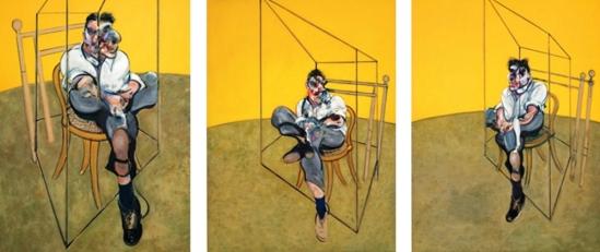 Francis Bacon. Trois études de Lucian Freud 1969 © Estate of Francis Bacon