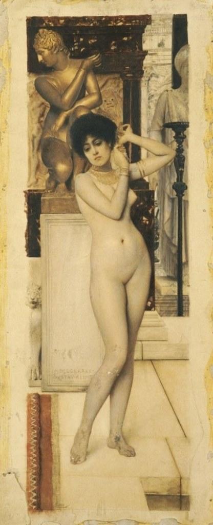 Gustav Klimt. Allégorie de la Sculpture 1890