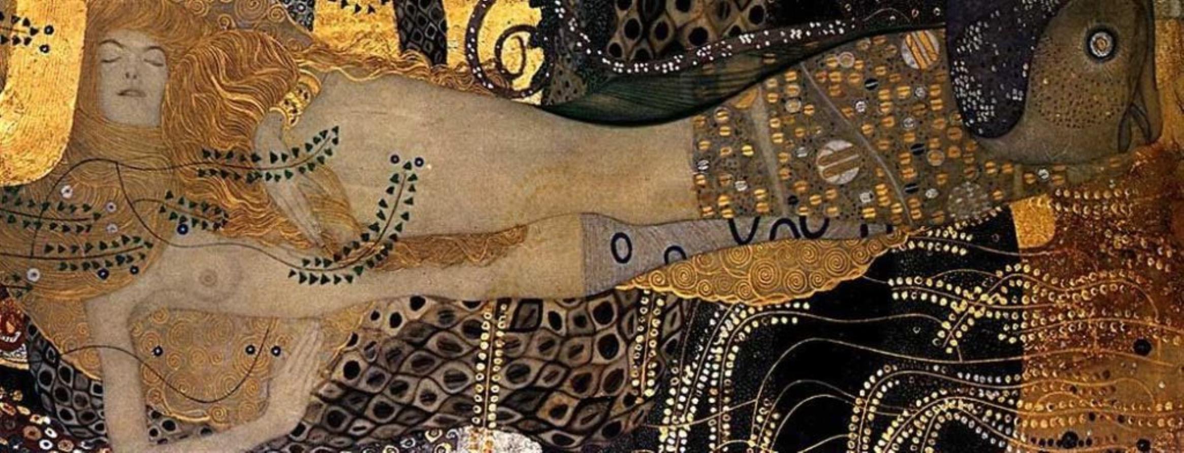 Gustav Klimt. Les serpents de l'eau 1904-1907