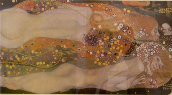 Gustav Klimt. Water serpents II 1908-1914