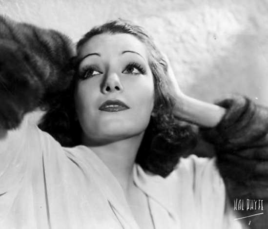 Hal Phyfe. Lupe Velez in 1932 for Fox Studios. Via lookingformabel