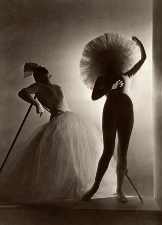 Horst P. Horst. Salvador Dalí's costumes for Leonid Massine's ballet Bacchanale 1939