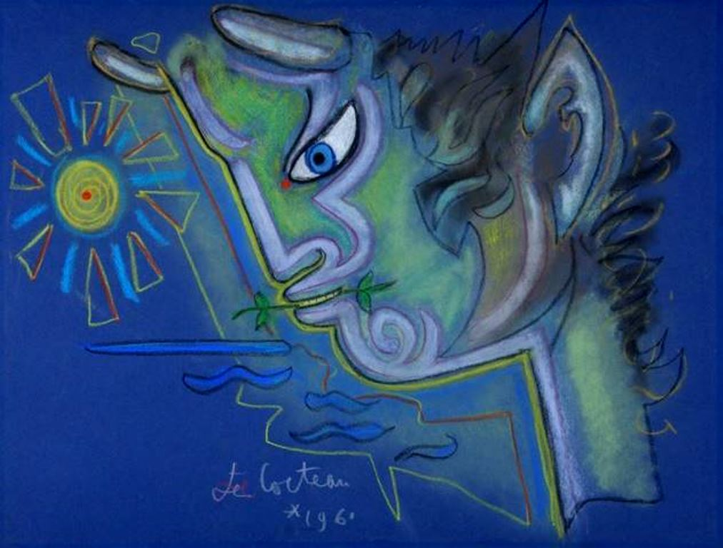 Jean Cocteau. Faune 1961. Via muséecocteau