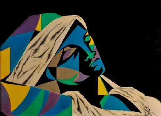 Jean Cocteau. Femme endormie 1951. Via muséecocteau