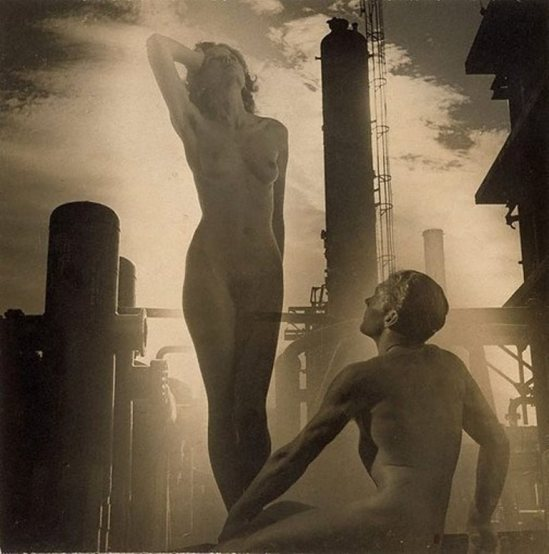 Laurence Le Guay. The progenitors 1938. Via nsw