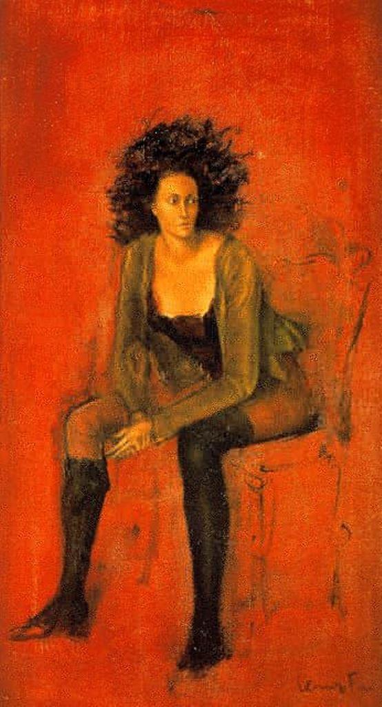 Leonor Fini. Portrait of Meret Oppenheim 1938