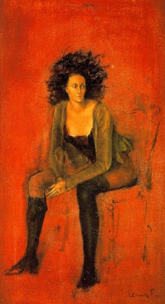 Leonor Fini. Portrait of Meret Oppenheim 1938