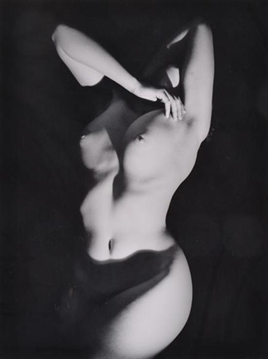 Max Dupain. Nude with shadow. Via mutualart