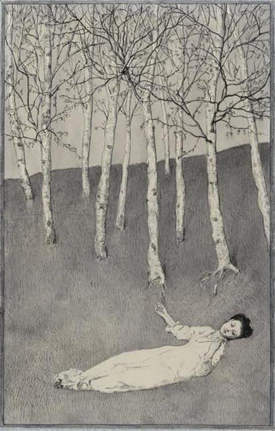 Max Klinger. Le Début du printemps 1874-1877