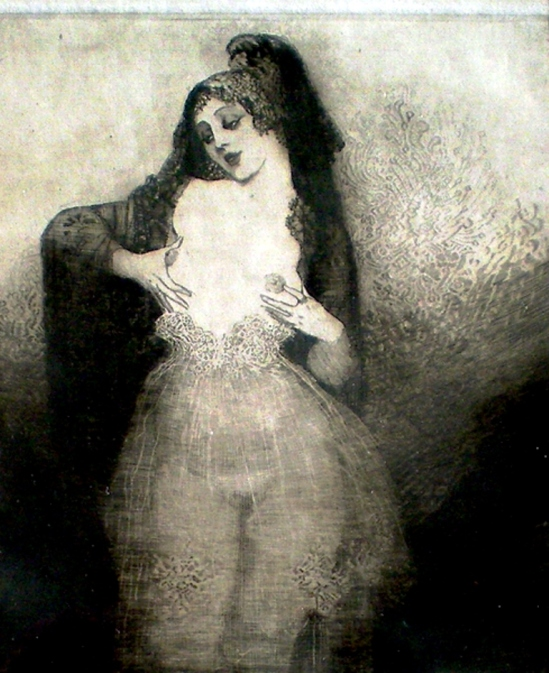 Norman Lindsay. The talking breasts 1920