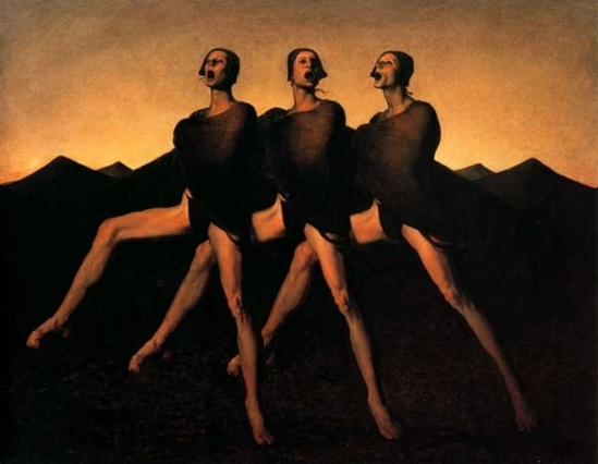Odd Nerdrum. the singers 1988
