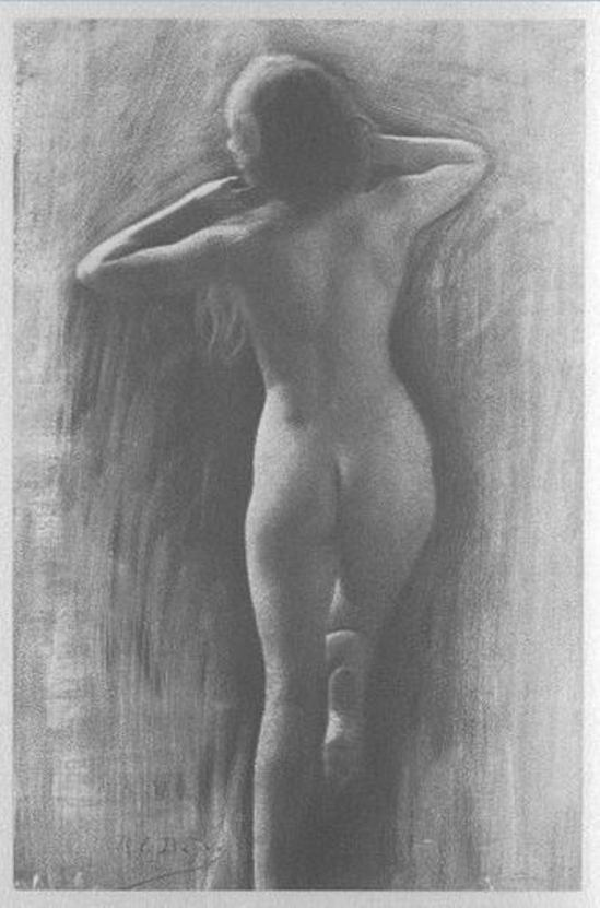 René Le Bègue. Study 1906. Via RMN
