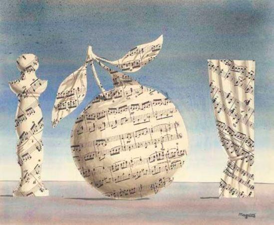 René Magritte. La pensée visible 1961