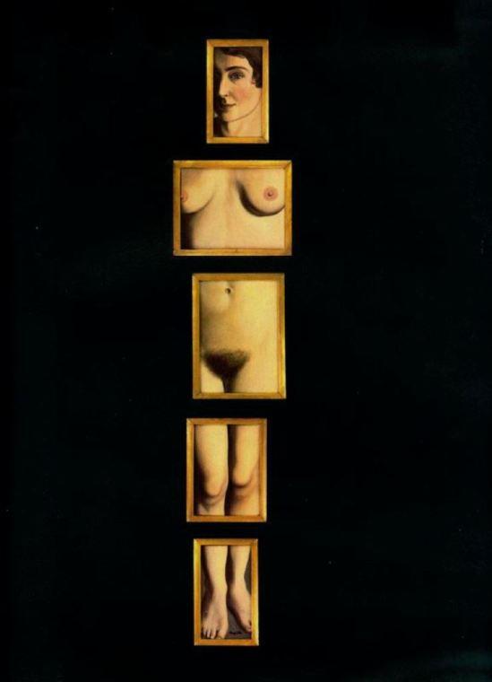 René Magritte. L'évidence éternelle 1930