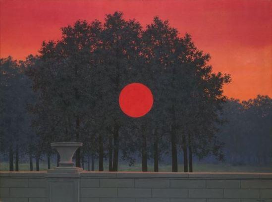 René Magritte. Le banquet  1958