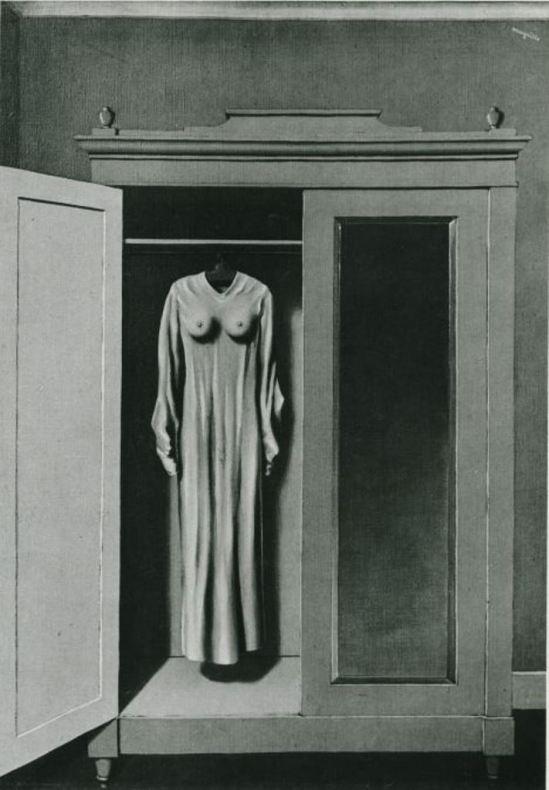 Rene Magritte, Homage to Mack Sennett, 1934