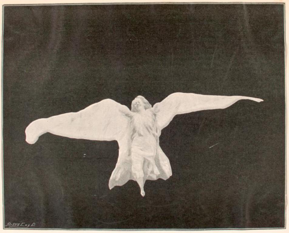 Strand Eng. Co. Loie Fuller dancing 1895. Via nypl