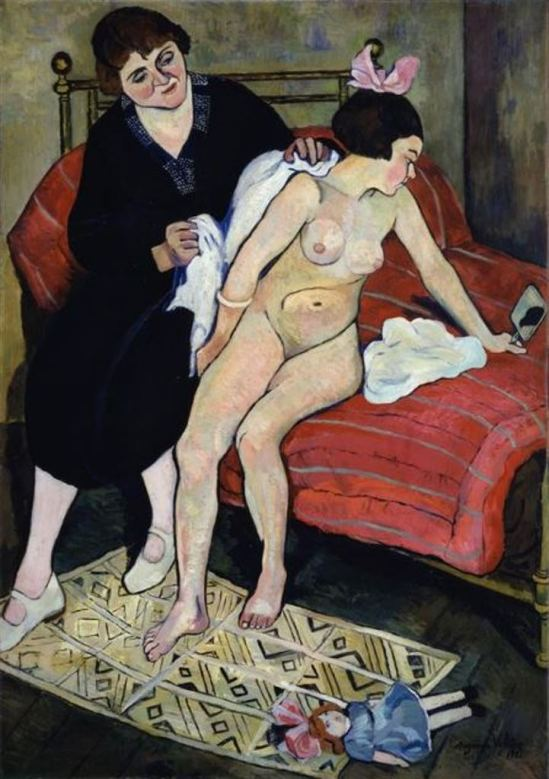 Suzanne Valadon. The cast-off doll 1921
