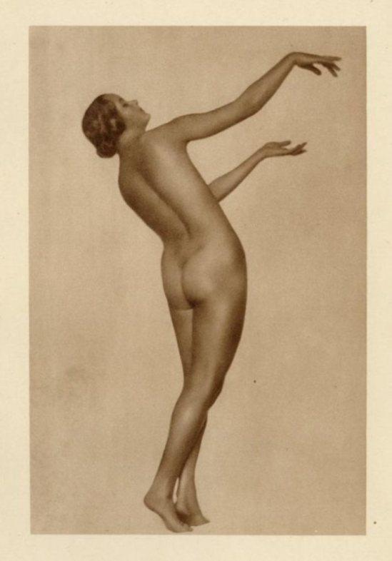 Trude Fleischman. Danisch Akt  1920. Via liveauctioneers