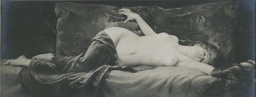 Albert Joseph Pénot. Volupté. Salon d'Hiver, Paris 1909. Postcard