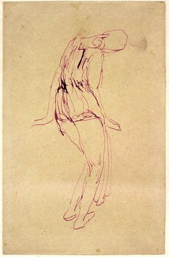 Antoine Bourdelle. Isadora Duncan 1909