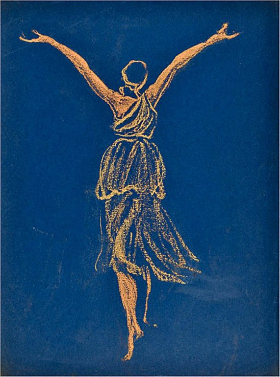 Jules Grandjuan. Isadora Duncan