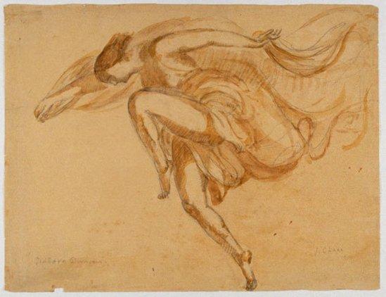 Antoine Bourdelle. Isadora Duncan1