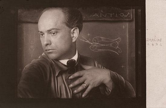 Anton Josef Trcka. Autoportrait 1926. Via invaluable