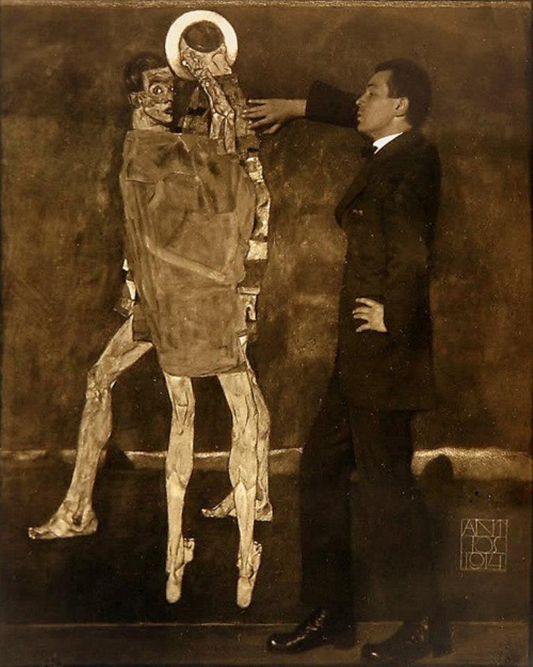 Anton Josef Trcka. Egon Schiele 1914