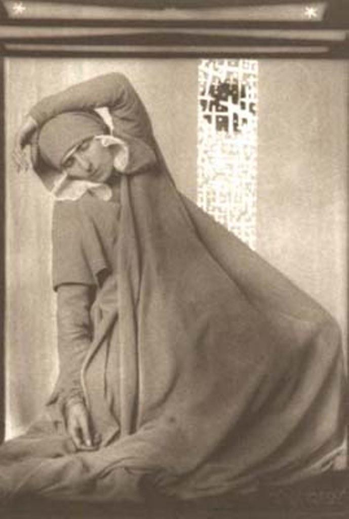 Anton Josef Trcka. Ellinor Tordis, dancer 1926 . Via jmcfaber.at