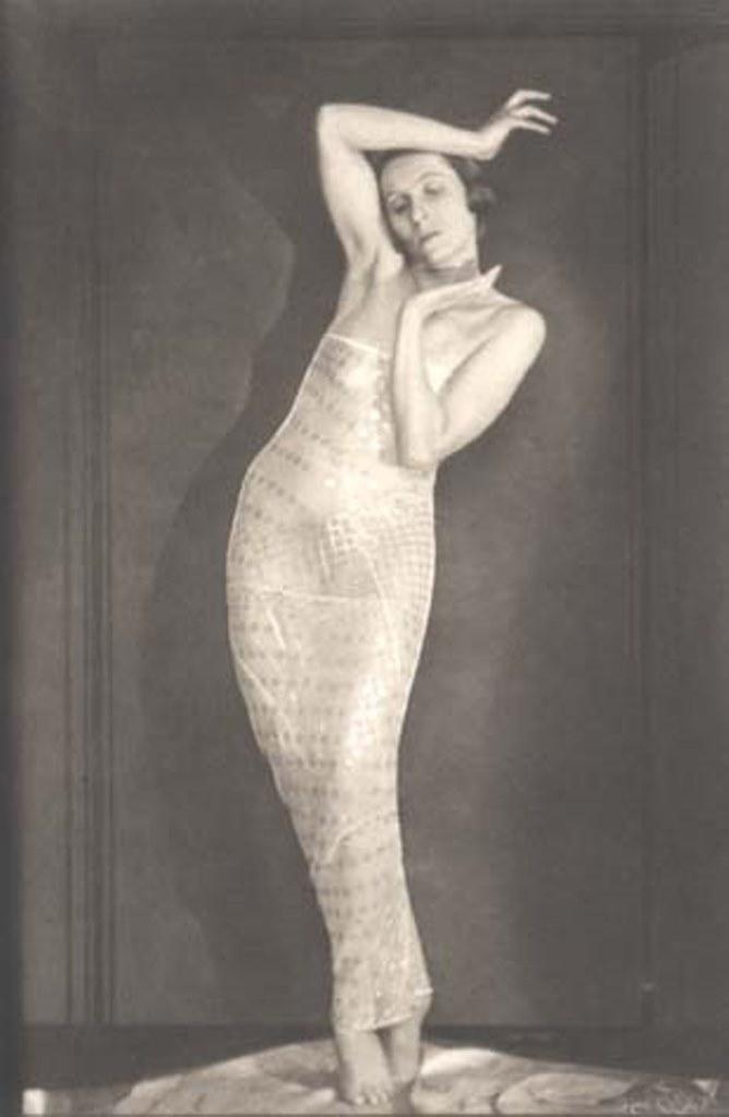 Anton Josef Trcka1. Ellinor Tordis, dancer 1926 . Via jmcfaber.at
