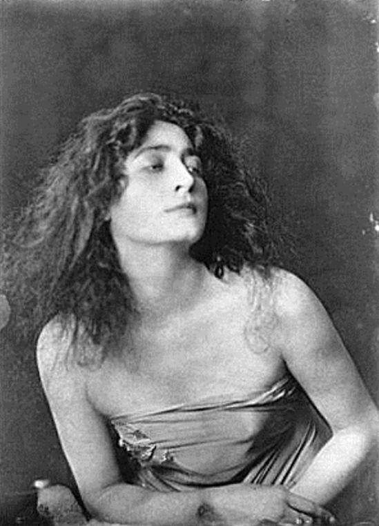 Arnold Genthe. Flore Revalles 1918. Via ebay